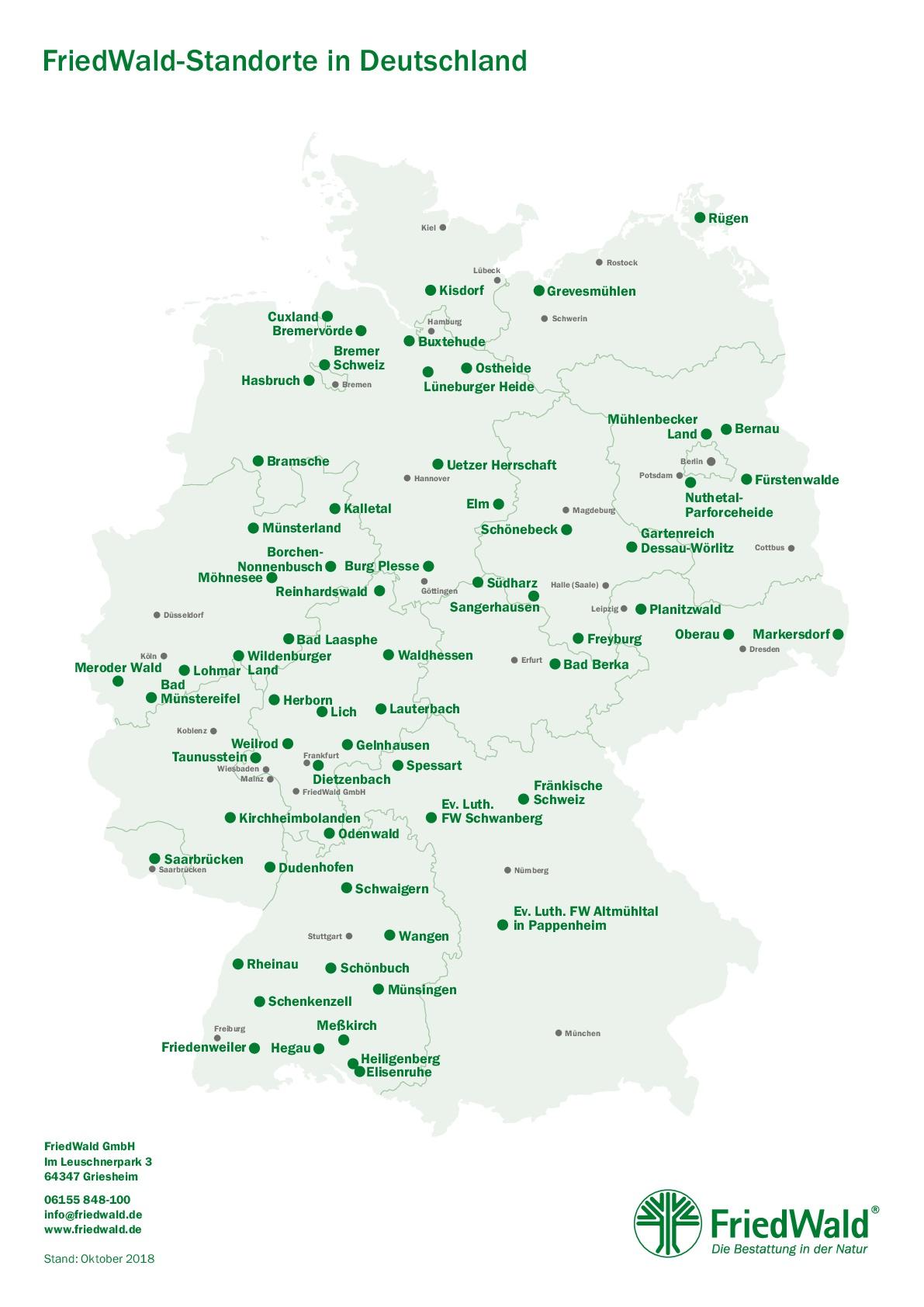 Friedwald Komplettangebot Ab 2299 Anternia Bestattungen